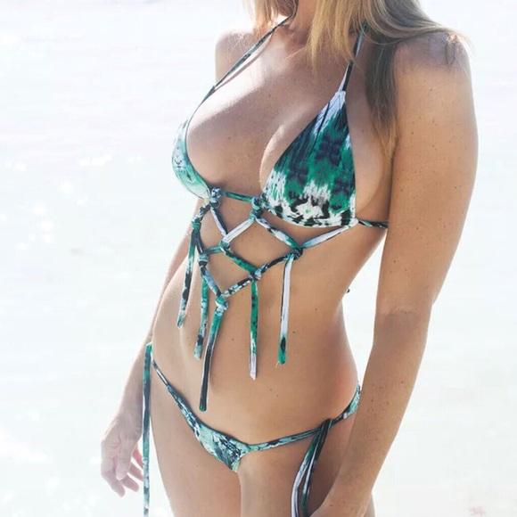 Colleen Kelly Designs Swimwear Frindge Microkini